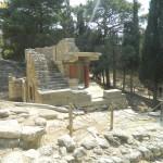 Knossos - ruiny pałacu minojskiego