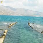 Elounda - zatopione miasto