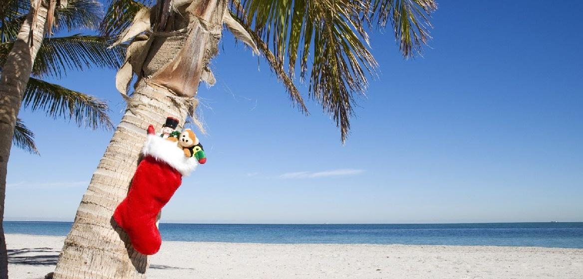 Boze Narodzenie na plazy