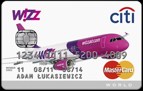 Karta kredytowa Citibank WizzAir