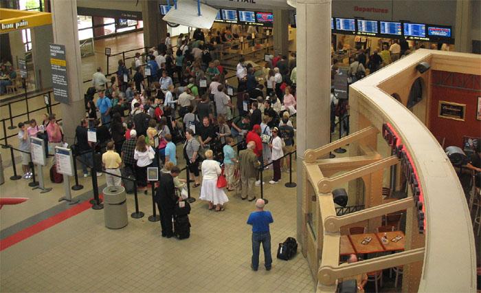 Odprawa na lotnisku