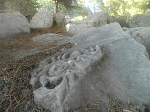 Ruiny w mieście KOS