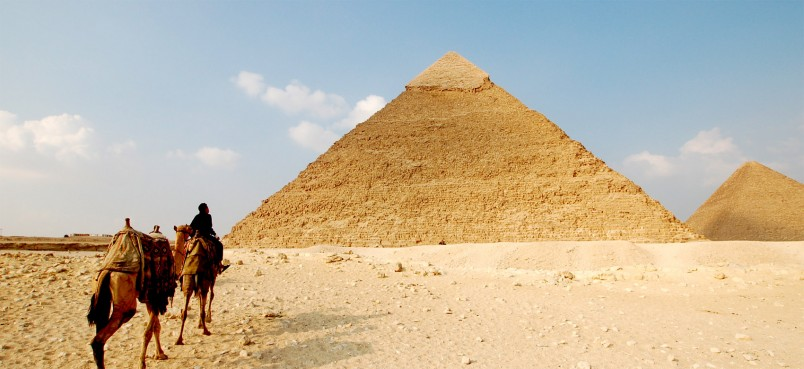 Egipt piramidy