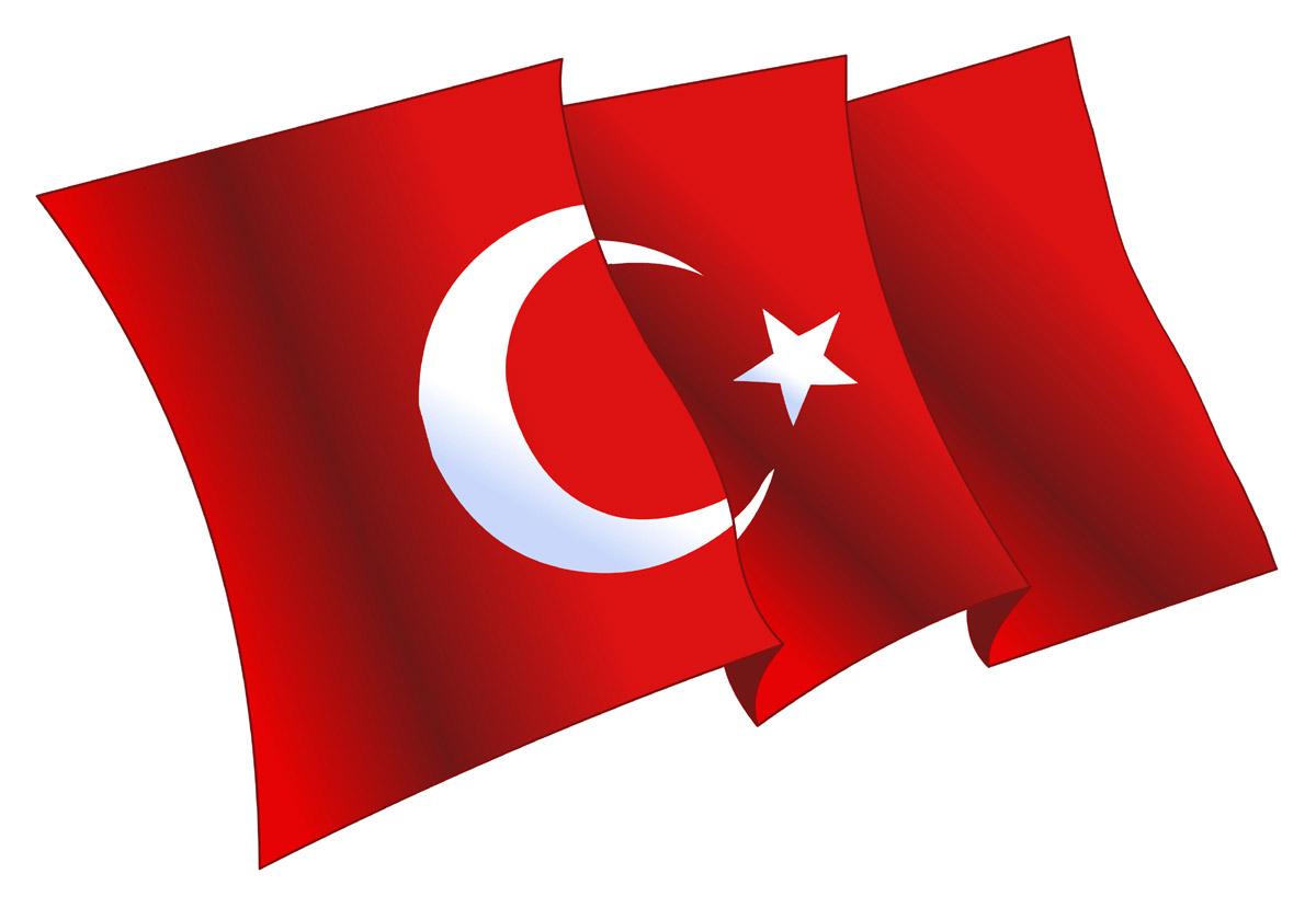 Flaga turecka