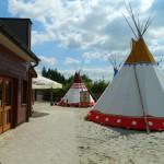Miasteczko TwinPigs - wioska indiańska