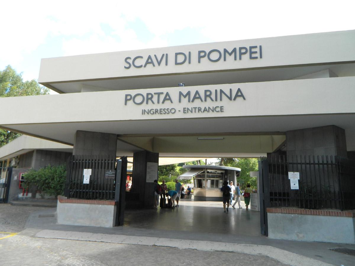 Pompeje - wejście