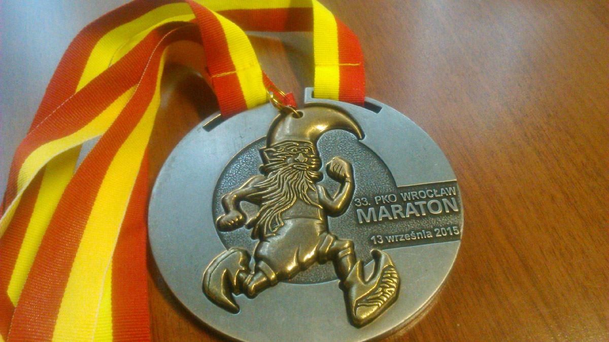 Wrocław Maraton - medal
