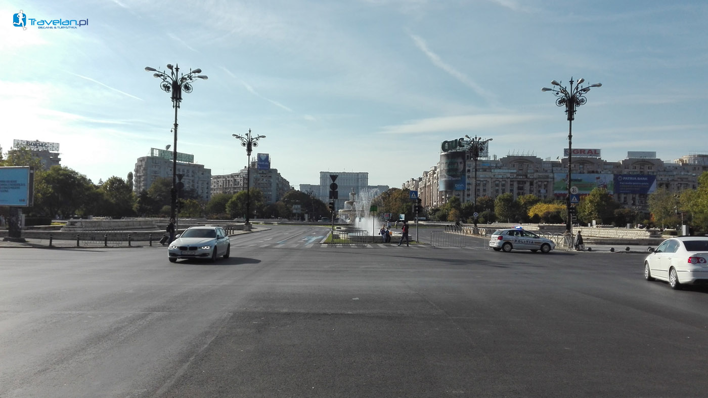 Bukareszt - Bulwar Unirii