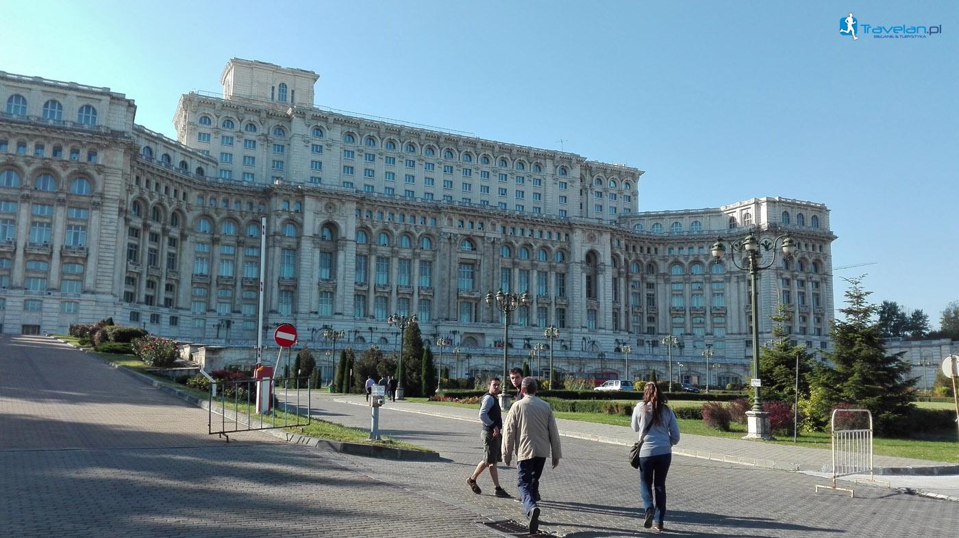 Bukareszt - budynek parlamentu