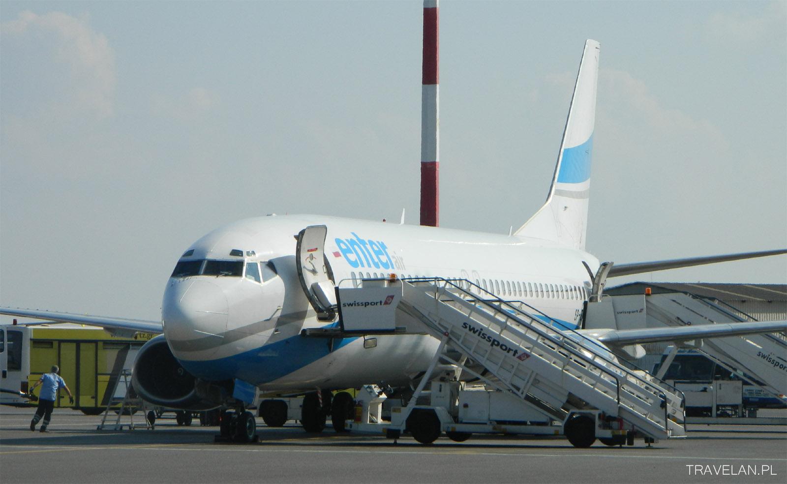Samolot Enter Air