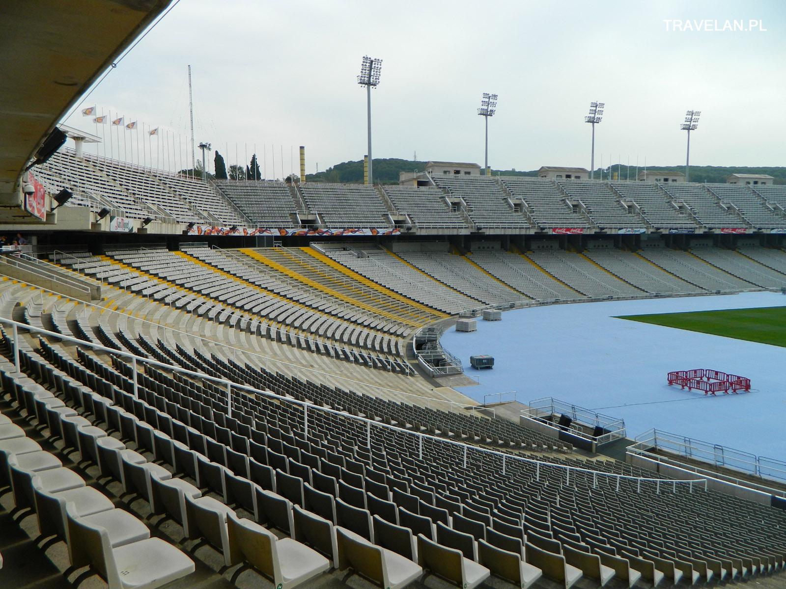 Wzgórze Montjuice - stadion olimpijski