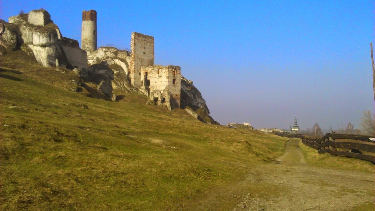 Jura - zamek w Olsztynie