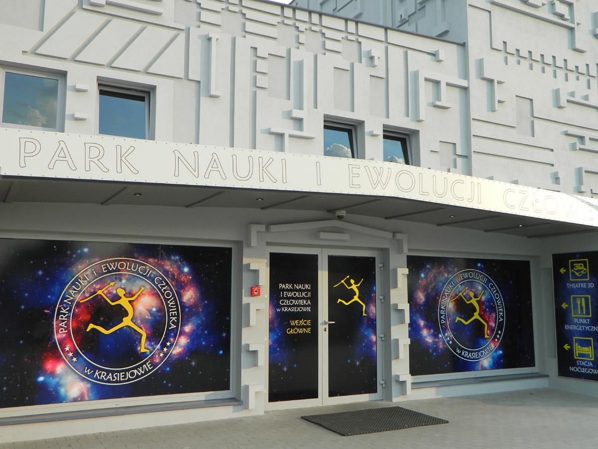 Park Nauki i Ewolucji człowieka - Krasiejów