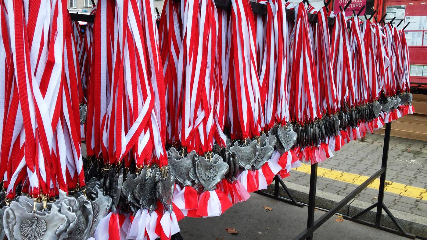 Medale Bieg Niepodległości Warszawa 2014