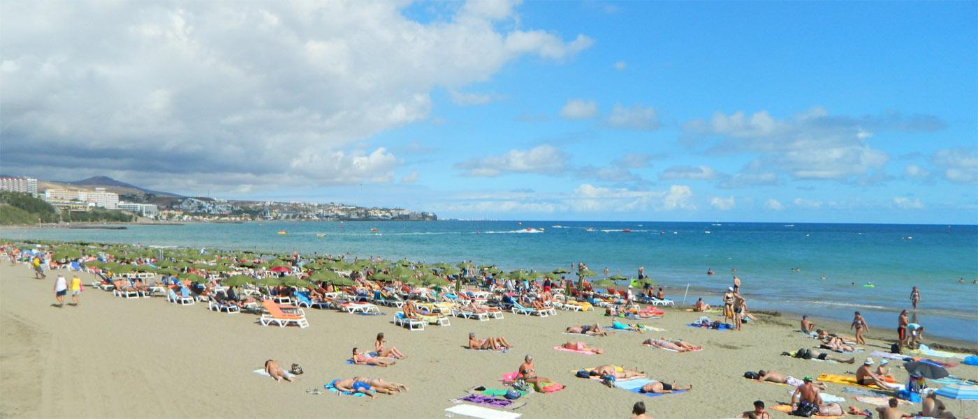 Plaża w Playa del Ingles