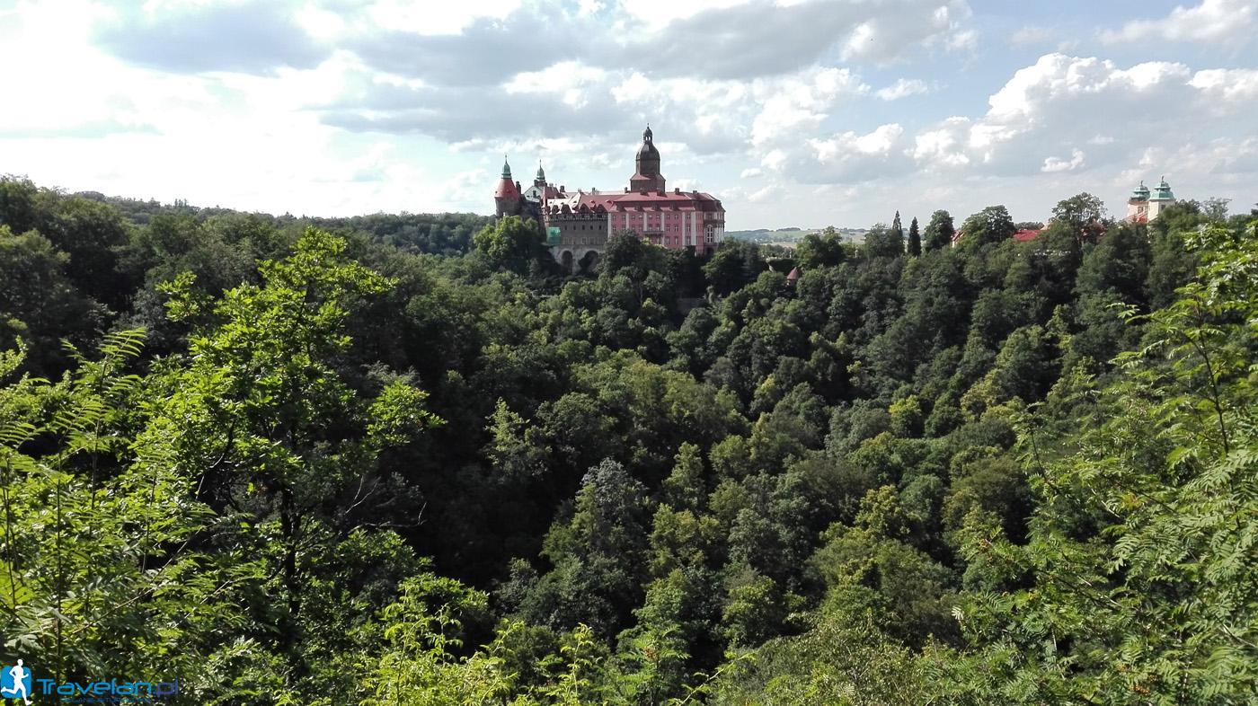 Zamek Książ - punkt widokowy