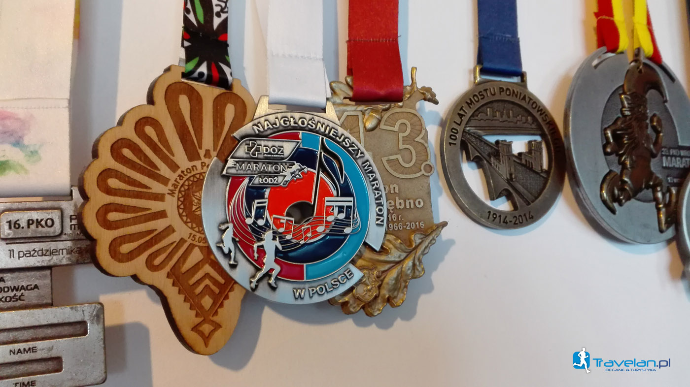 Medal DOZ Maraton Łódź 2017