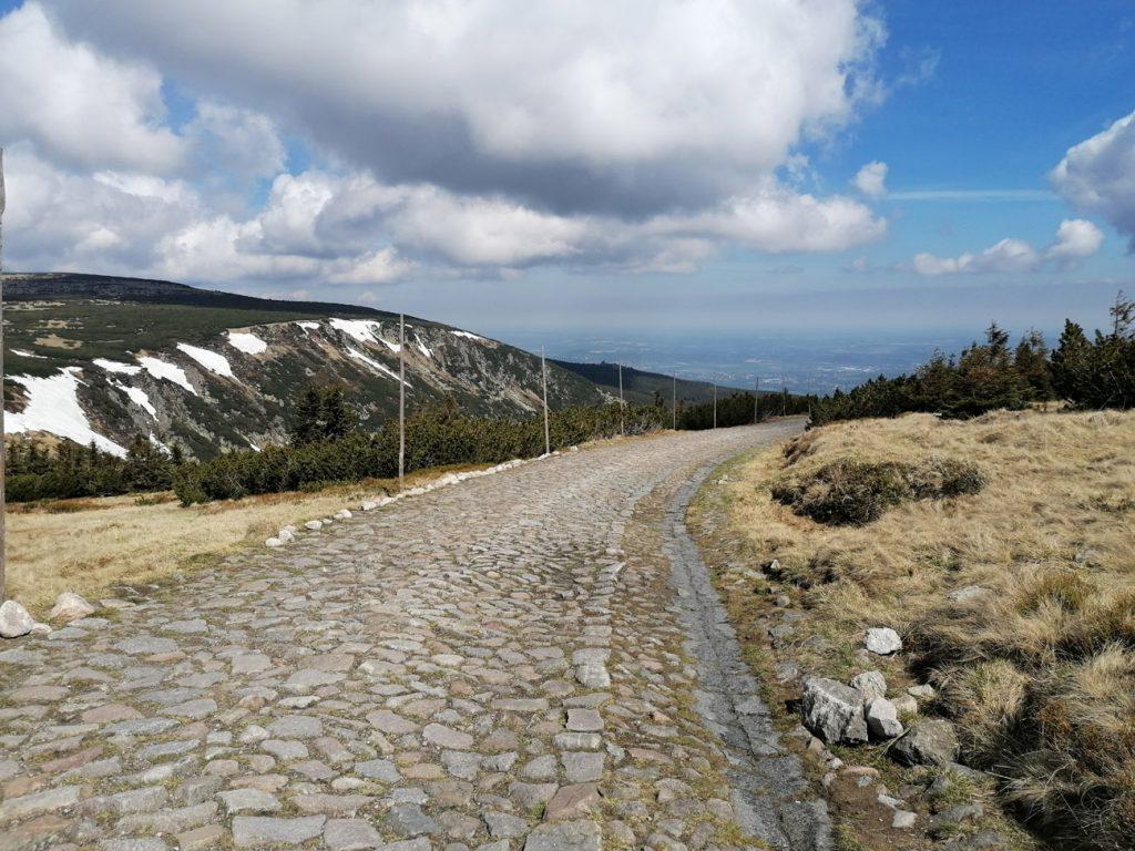 Niebieski szlak na Śnieżkę